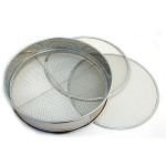 X-2 - 3pc Stainless Sieve set 300mm
